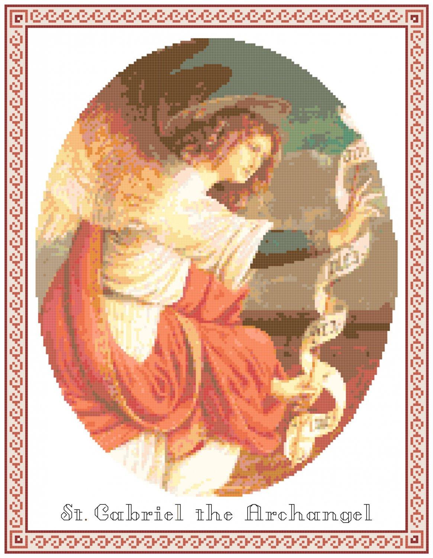 St. Gabriel the Archangel Pattern