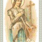 St. Joan of Arc Pattern Chart Graph