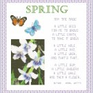 Spring Pattern Chart Graph