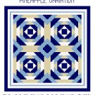 Pineapple Variation Quilt Pattern Chart Graph