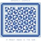 Broken Dishes Quilt Pattern Chart Graph