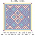 Meeting Place Quilt Pattern Chart Graph