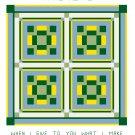 Hand Weave Quilt Pattern Chart Graph