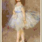 Renoir's The Dancer  - 1874 Pattern Chart Graph