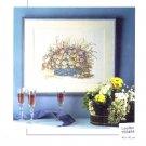 Flower Basket Cross Stitch Chart Pack by Permin of Copenhagen #150484