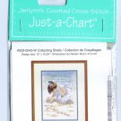 Collecting Sea Shells Cross Stitch Chart Pack