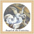 Angel of the Nativity Cross Stitch Pattern Chart Graph
