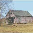Old Barn Landscape Pattern Chart Graph