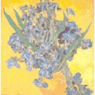 Irises in a Vase by Van Gogh Pattern Chart Graph