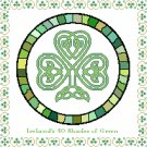 Ireland's 40 Shades of Green Pattern Chart Graph