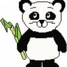 Panda Bear Pattern Chart Graph