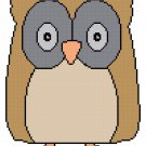 Hoots the Owl Pattern Chart Graph