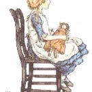 """Polly"" by Kate Greenaway Pattern Chart Graph"