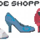 Shoe Shopper Pattern Chart Graph