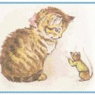 Miss Moppet by Beatrix Potter Pattern Chart Graph