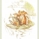 Mr. Jeremy Fisher by Beatrix Potter Pattern Chart Graph
