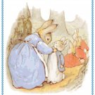 The Tale of Peter Rabbit by Beatrix Potter Pattern Chart Graph