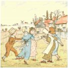 March by Kate Greenaway Pattern Chart Graph