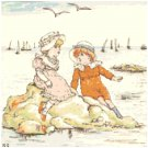 July by Kate Greenaway Pattern Chart Graph