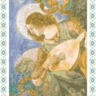Angel With A Lute Pattern Chart Graph