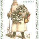 1800's White Robed Santa Pattern Chart Graph