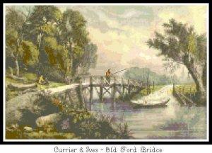 Old Ford Bridge Pattern chart Graph