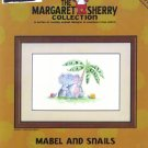 Mabel and Snails Cross Stitch Chart Pack