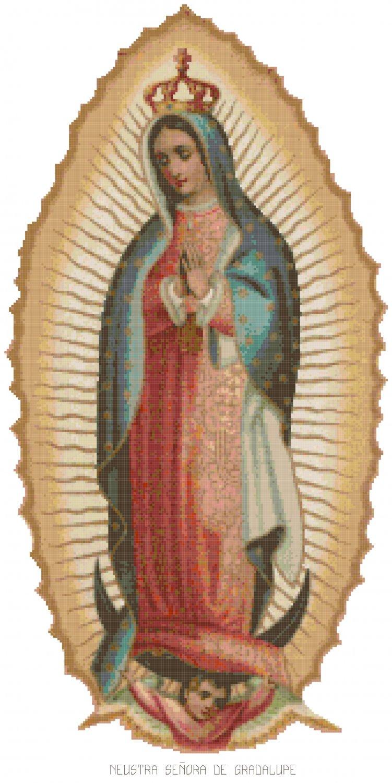 Nuestra Senora de Guadalupe Pattern Chart Graph