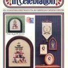 In Celebration Cross Stitch Leaflet