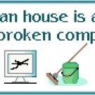 A Clean House Pattern Chart Graph