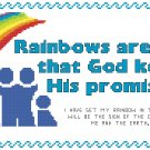 Rainbows Are Proof Pattern Chart Graph