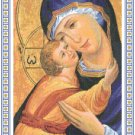 Theotokos Icon Pattern Chart Graph
