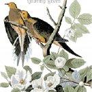 Audubon Morning Doves Pattern Chart Graph