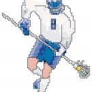 LaCrosse - Male Player Pattern Chart Graph