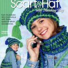 Crochet Puff Stitch Scarf and Hat Leaflet