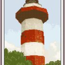 Hilton Head Lighthouse - S.C. Seascape Pattern Chart Graph
