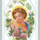 Infant Jesus Cross Stitch Pattern Chart Graph