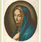 Mary's Sorrow Cross Stitch Pattern Chart Graph