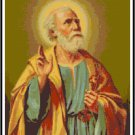 St. Peter the Apostle Cross Stitch Pattern Chart Graph