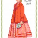Miss Meghan 1869 Children's Fashion Design Pattern Chart Group