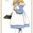 Miss Samantha 1873 Children's Fashion Design Pattern Chart Graph