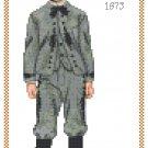 Master Thomas 1873 Children's Fashion Design Pattern Chart Graph