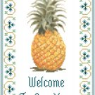Welcome To Our Home Sampler Cross Stitch Pattern Chart Graph