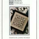 Sampler Game Board Cross Stitch Leaflet