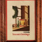 1980 Timberlake Christmas Stamp Cross Stitch Leaflet
