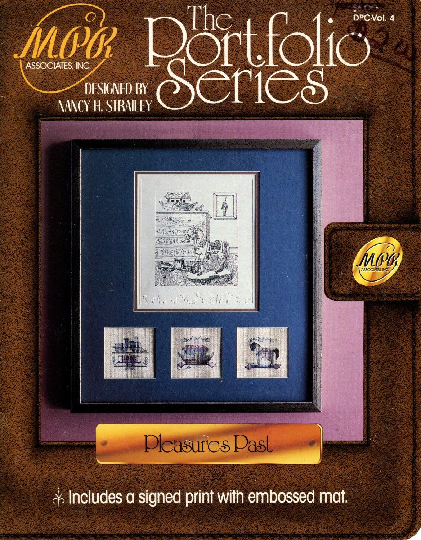 Pleasures Past Cross Stitch Leaflet