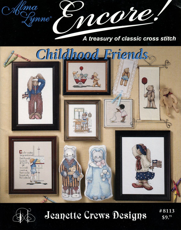 Childhood Friends Cross Stitch Booklet