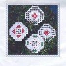Floral Ornaments Hardanger Kit