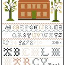 Marcy Peck Antique 1804 Sampler Reproduction Pattern Chart Graph