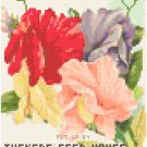 Antique Sweet Peas Flower Seed Packet Pattern Chart Graph